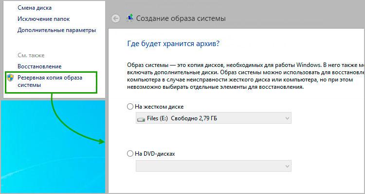 Как создать резервную копию образа системы Windows