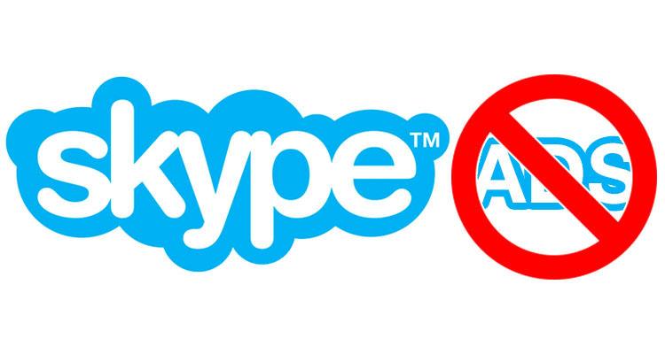 Отключаем рекламу в Skype для Windows